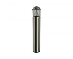 Stainless Steel EasyLED Round Dome Bollard with LED Cone Reflector